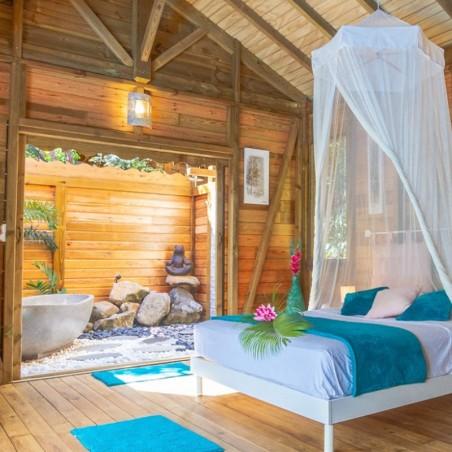 1 nuit offerte pour 1 nuit achetée en Jungle Lodge pour 2...