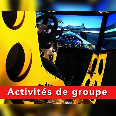 Challenge Duo : Défiez vous à la course automobile • 4DRIVE