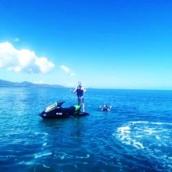 Découvrez les plaisirs du jet ski avec cette rando découverte 1h • Jet Adventure