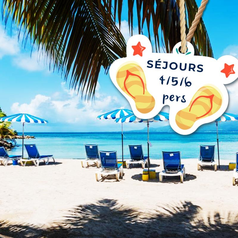 Séjour pour 5 ou 6 personnes avec Petit déjeuner à partir de 1 nuit • Canella Beach Hôtel : 6 pers 5J4N