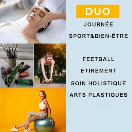 Partager un moment Sport et bien être en Duo • Au coeur...