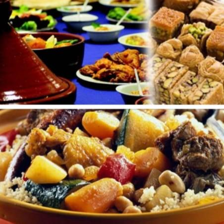 Votre thé à la marocaine et ses pâtisseries offerts avec...