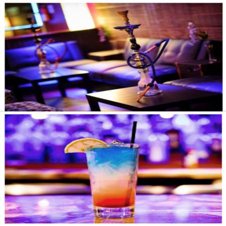 After-work : Chicha + Cocktail avec ou sans alcool +...