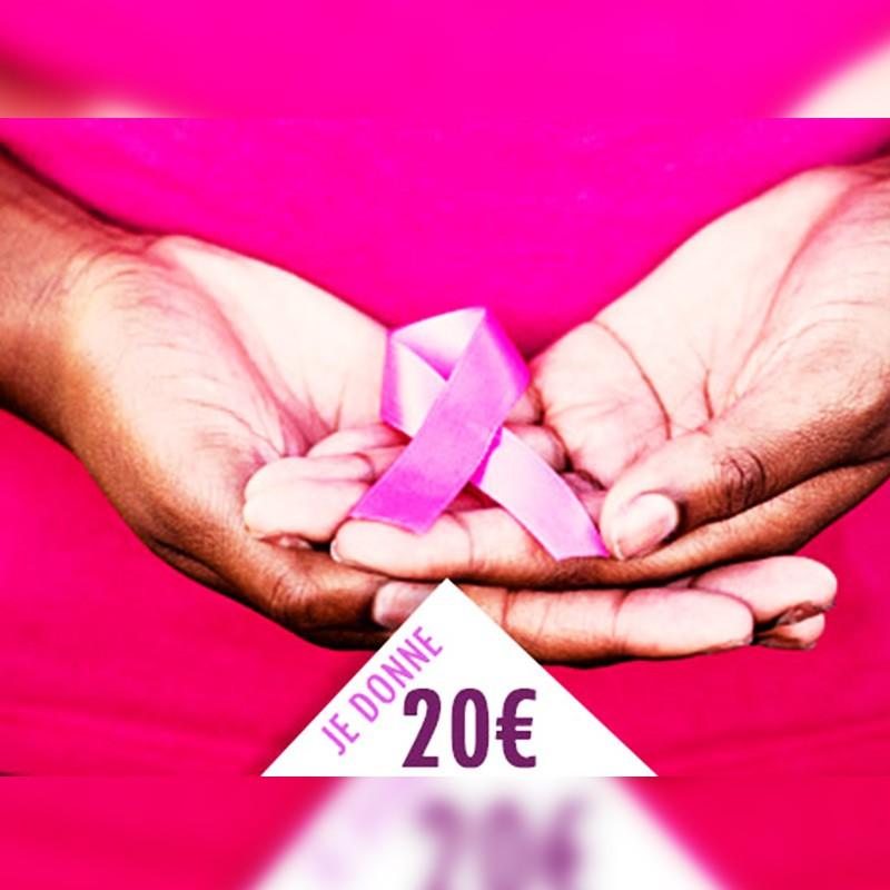 OCTOBRE ROSE : Je soutiens les actions Amazones Guadeloupe, je donne 20€