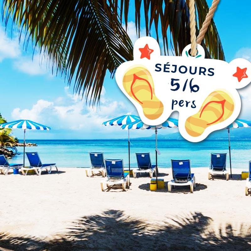 Séjour pour 6 personnes avec Petit déjeuner à partir de 1 nuit • Canella Beach Hôtel : 2J1N