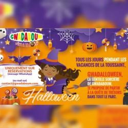 Halloween c'est tous les jours pendant les vacances • Gwadaboum : enft de 4 à 12 ans