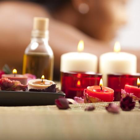 Rituel relaxation : massage bien être du dos, des jambes...