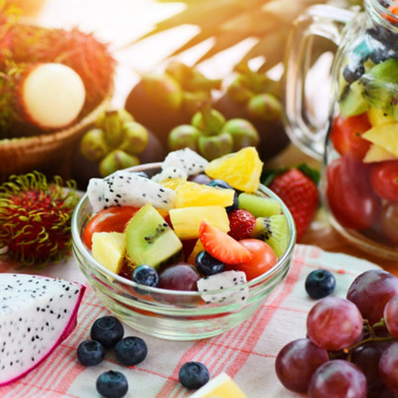 Faites le plein de vitamines pendant 1 mois avec la cure de fruits • Mr beauté
