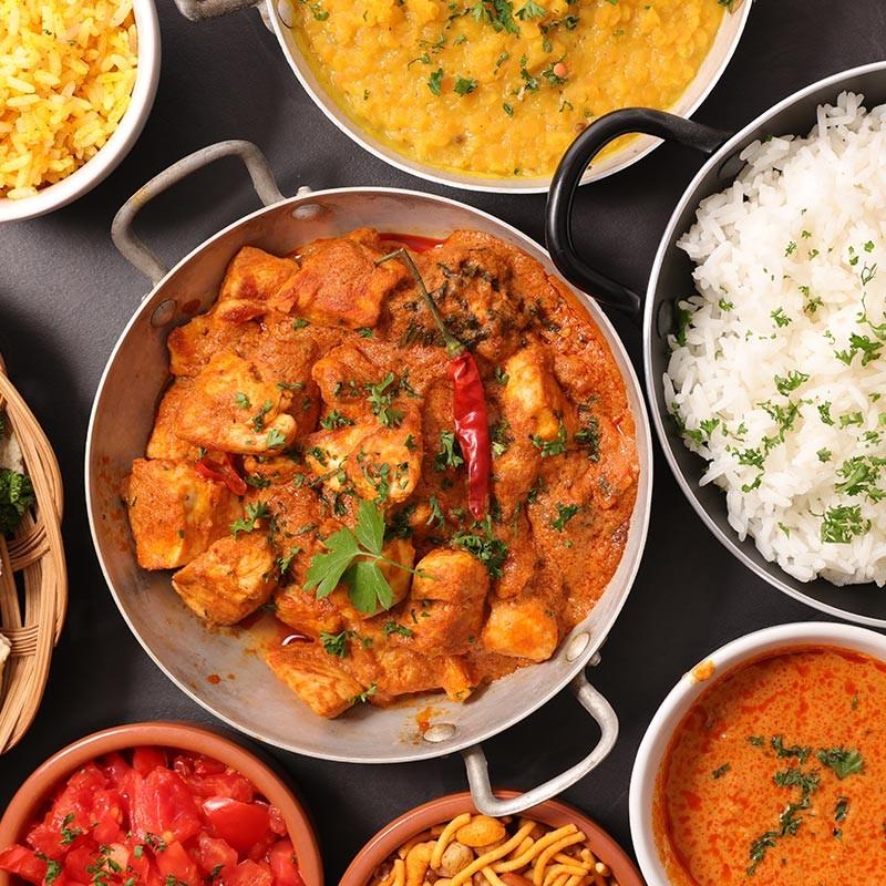 Votre menu Chicken : Entrée, Plat et Dessert au choix •  Restaurant le Gandhi