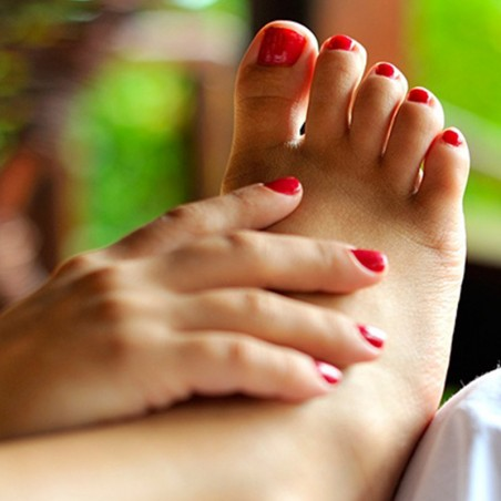 Pose d'ongle + vernis semi permanent mains & pieds •...