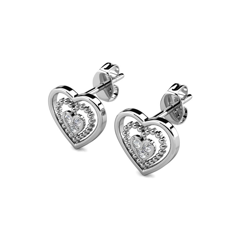 Boucles d'oreilles Gene Heart • MYC Paris