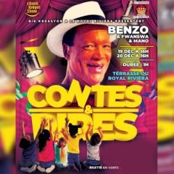 Contes & Rires : les 16 et 17 Février au Ciné théâtre du Lamentin : Merc 17/02 1+2
