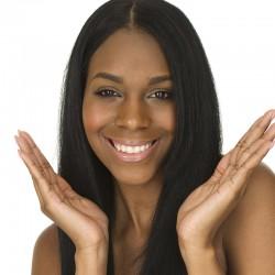 Prenez soin de vos cheveux avec une coloration + lissage steampod • Hair Antilles