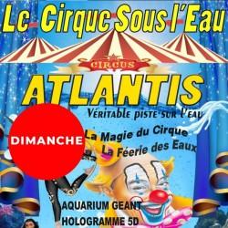ATLANTIS : le Cirque sous l'eau : GCtre Enft Dim 18h