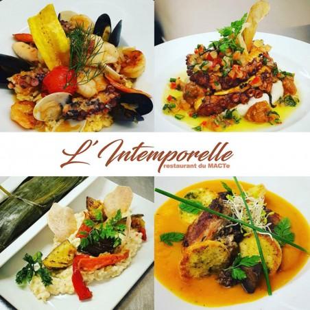 Restaurant L'intemporelle : Formule Midi avec entrée +...