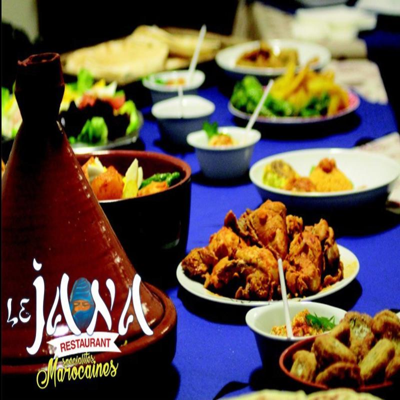 Menu Royal : entrée, plat & dessert pour vous régaler les papilles • LE JANA Restaurant
