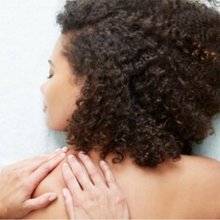 Votre massage du dos ou crânien à l'huile chaude de...