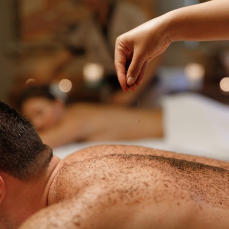 Duo Saint-Valentin : Massage relaxant & gommage •...