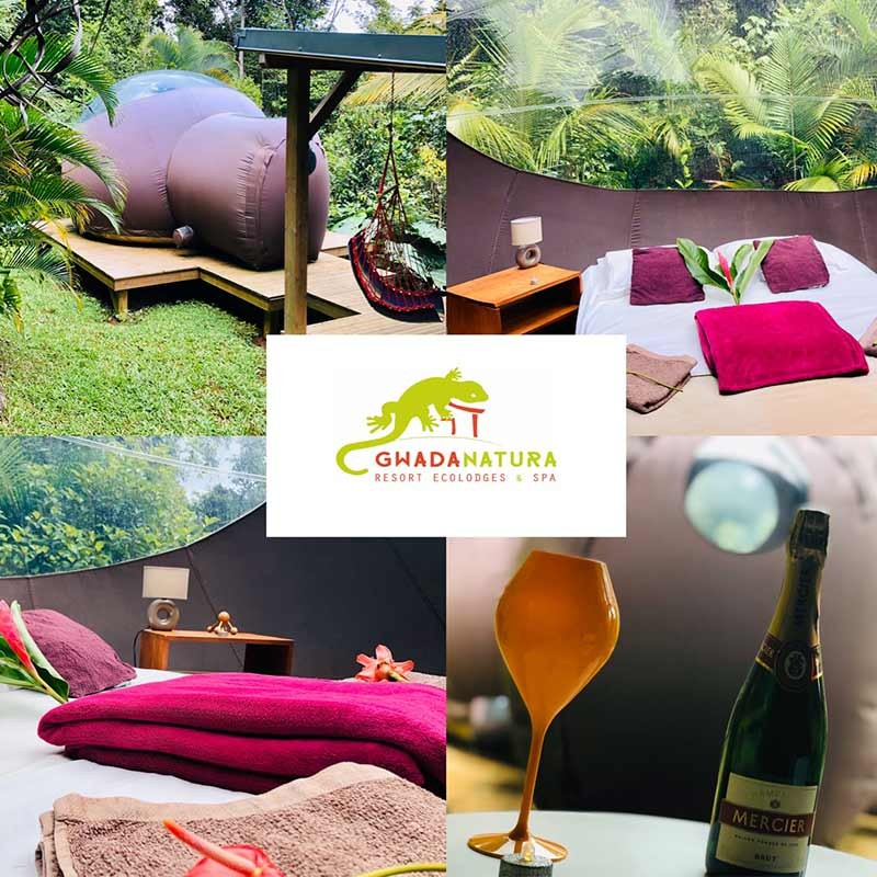 Séjour insolite 2J/1N en Duo • Gwada Natura Resort Ecolodges & Spa