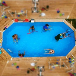 Réservez votre cours d'aquabike ou aquatraining • Splash