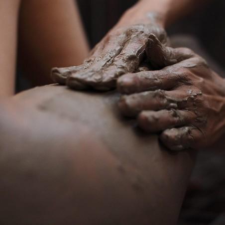 Gommage, Drainage lymphatique & Enveloppement à la boue •...