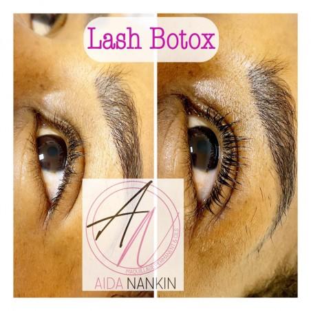 Découvrez le lash botox & teinture de cils pour un regard...