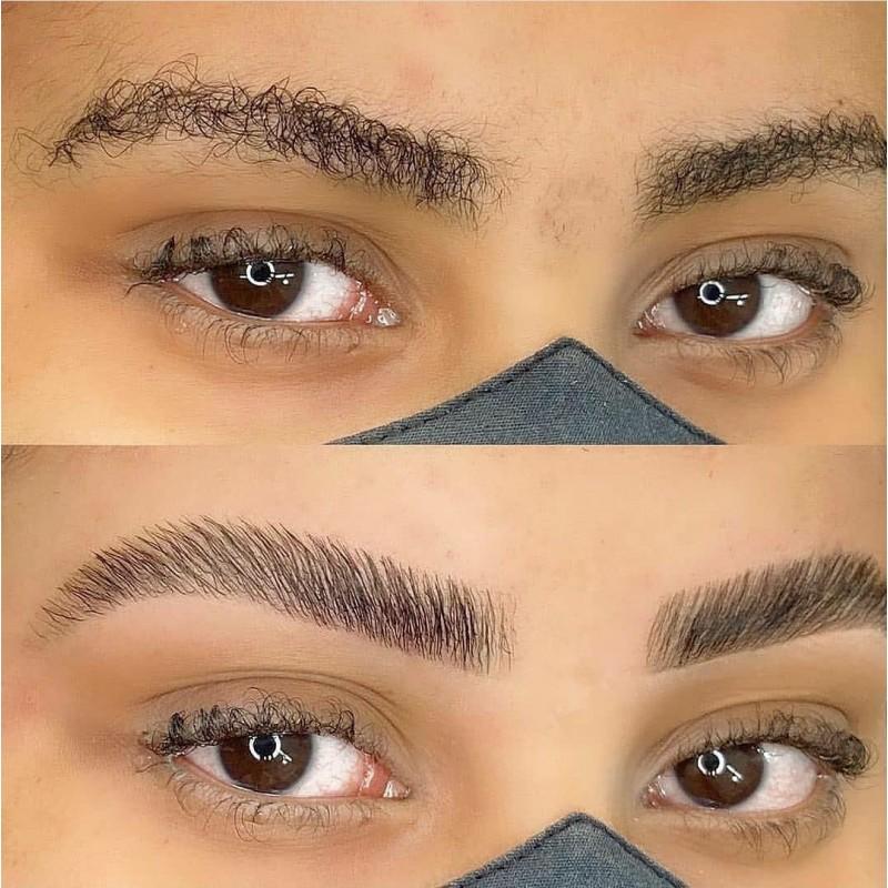 Nouveau ! La Teinture des sourcils par Browlamination • Institut Fingerbelle