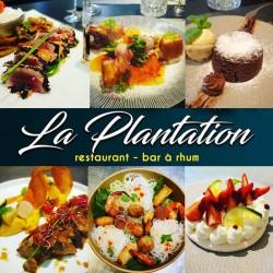 Formule soir : entrée + plat + dessert • Restaurant la Plantation