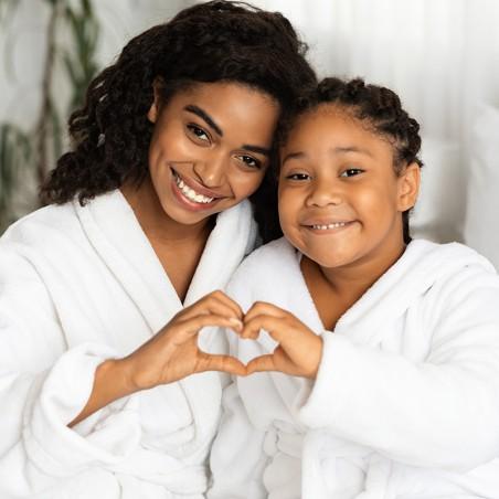 Partagez une escale Mère & Fille : jacuzzi et modelage du...