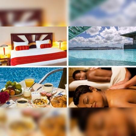 Pack Hotel zen en duo : Massage + Hébergement +...