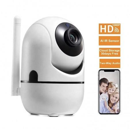 Caméra wifi 360 degrés avec vision nocturne