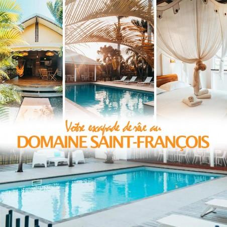 Domaine de St François : votre séjour prestige en duo ou...