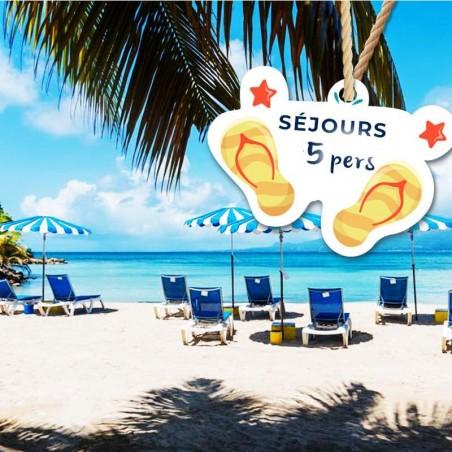 Canella Beach Hôtel • Séjour 1N pour 5 personnes avec...