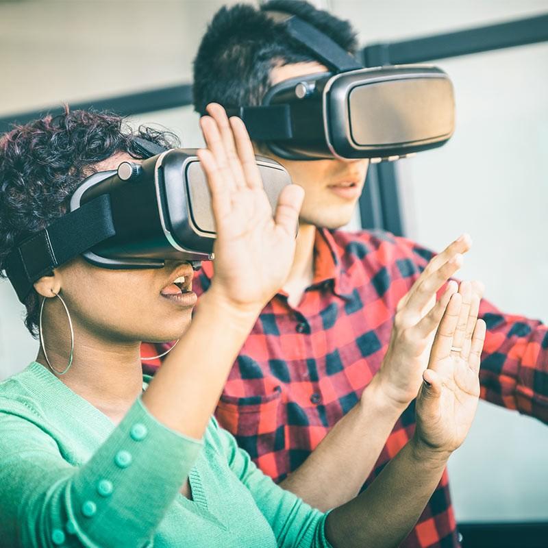 Réalité virtuelle : un espace dédié pour une expérience inoubliable • ZEA : SANS PLATEFORME