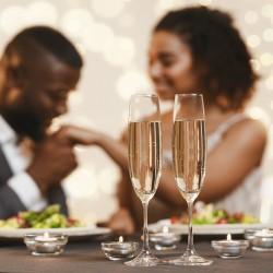 Votre dîner romantique en duo avec champagne • Auberge de la vieille tour****